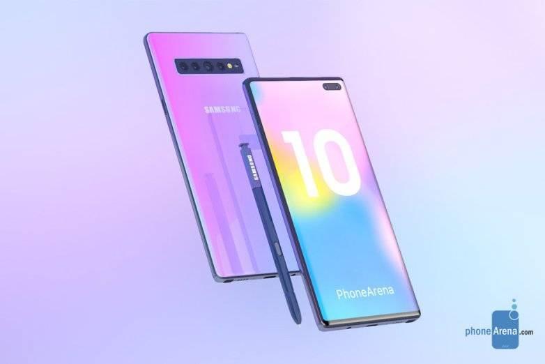 Galaxy Note 10 Yang Tanpa Tombol Fisik dan Jack Headphone
