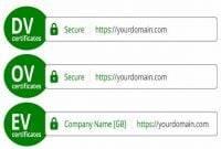 Pengertian DV/OV/EV yang ada Pada SSL