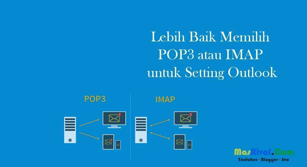 Lebih Baik Memilih POP3 atau IMAP untuk Setting Outlook