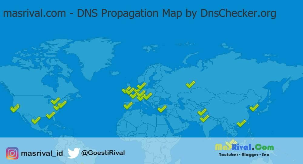 Apa itu Propagasi Domain dan Berapa Lama Waktu Yang Diperlukan
