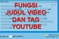 Apa Fungsi Judul Deskripsi dan Tag pada Youtube